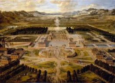 Le château de Versailles peint par Patel