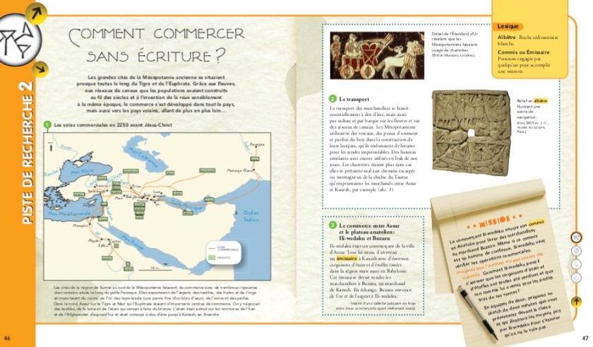Premiers Etats, premières écritures Commercer sans écriture