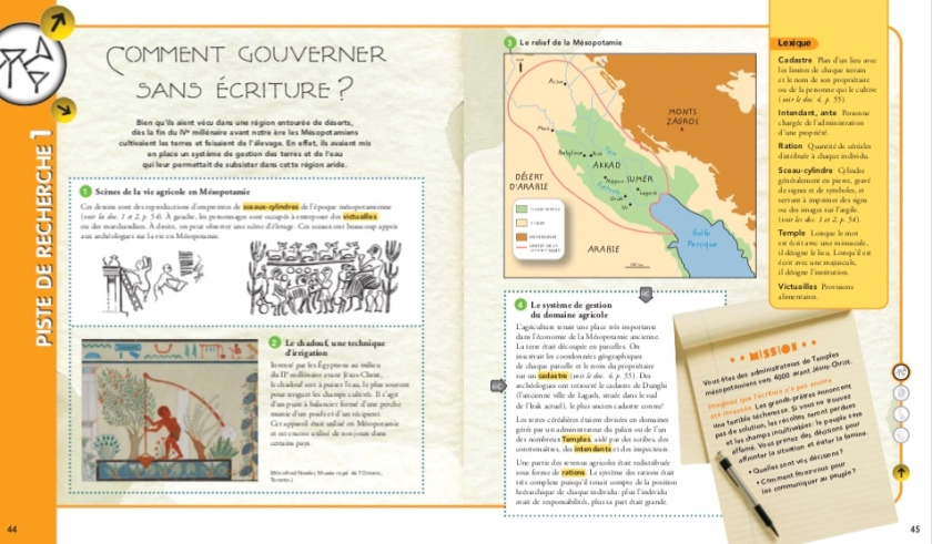 Premiers Etats, premières écritures Gouverner sans écriture